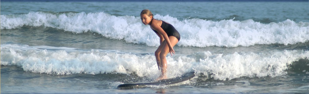 Cape May Beach Surfer Girl